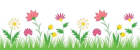 Fleurissez le cadre Image stock
