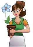 Fleuriste Images libres de droits