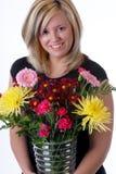 Fleuriste Photo libre de droits