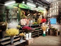 Fleuriste de rue Images stock