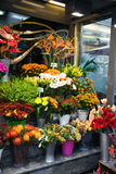 Fleuriste de rue Photo stock