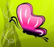 Fleuriste floral And Butterflies d'été d'expositions de papillon Photographie stock libre de droits