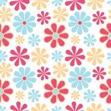 Fleurit la configuration sans joint illustration stock