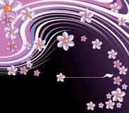 Fleurit le backgroun Photo libre de droits