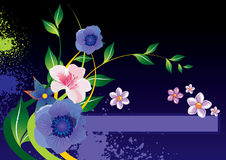 Fleurit le backgroun Photo stock