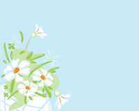Fleurit le bouquet de fond Image stock