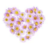 Fleurit le coeur Photos libres de droits