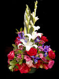 Fleurit le panier Images stock