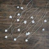 Fleurit un lilas sous forme de blanc de coeur Photographie stock libre de droits