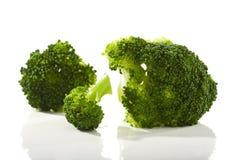 Fleurons de broccoli Photos libres de droits