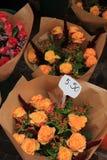 Fleurs à un marché de fleur Photo stock