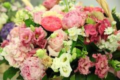 Fleurs élégantes de fond de fleur Photographie stock libre de droits