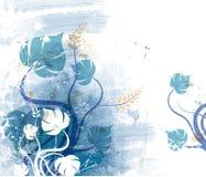 Fleurs abstraites illustration stock
