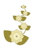 Fleurs abstraites Images stock