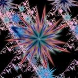 Fleurs abstraites photos stock
