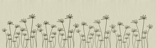 Fleurs abstraites Image stock
