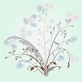 Fleurs abstraites Photo libre de droits