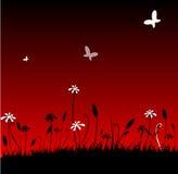 Fleurs abstraites illustration libre de droits