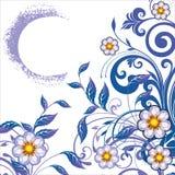 fleurs abstraites de fond Image stock