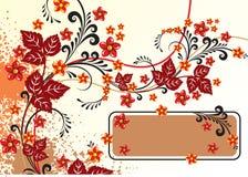 fleurs abstraites de fond Photographie stock libre de droits