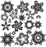 Fleurs abstraites pour la conception Photos libres de droits