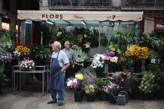 Fleurs, achat, achat, achat Image libre de droits