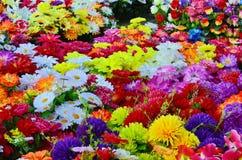 Fleurs artificielles Images libres de droits