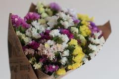 Fleurs au cadeau Images libres de droits