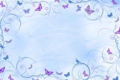 Fleurs avec des ailes Photo stock