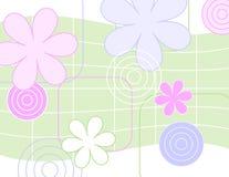 Fleurs bariolées illustration de vecteur