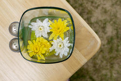 Fleurs bienvenues Images stock