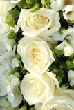 Fleurs blanches de mariage Photo libre de droits