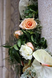 Fleurs blanches de mariage Images stock