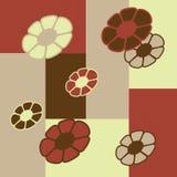 Fleurs chaudes illustration stock