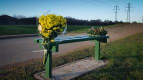 Fleurs commémoratives Photos stock