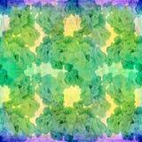 Fleurs - composition décorative watercolor Configuration sans joint Employez les matériaux imprimés, signes, articles, sites Web, illustration libre de droits