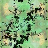 Fleurs - composition décorative watercolor Configuration sans joint Employez les matériaux imprimés, signes, articles, sites Web, illustration stock