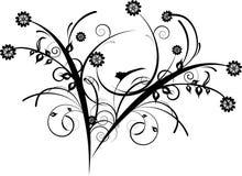 Fleurs décoratives illustration libre de droits