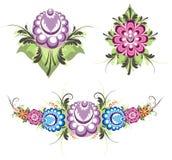 Fleurs décoratives Photographie stock