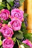 Fleurs décoratives pour épouser Photographie stock libre de droits