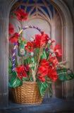 Fleurs d'église Images stock