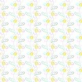 Fleurs d'été Illustration Stock