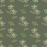 Fleurs 2 d'été Illustration Stock