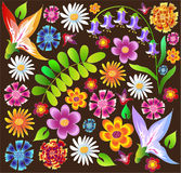 Fleurs d'été Photos stock