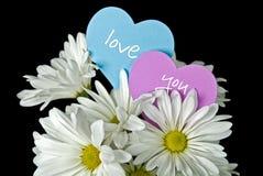 Fleurs d'amour Image stock