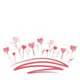 Fleurs d'amour Photographie stock libre de droits