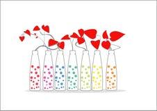 Fleurs d'amour Images stock