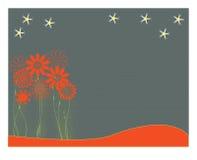 Fleurs d'amusement illustration stock