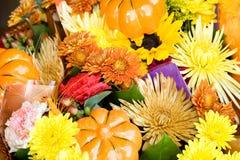 Fleurs d'automne Photographie stock