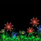 Fleurs d'imagination Photographie stock libre de droits